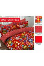 KLA 1018-008 Elmo Funny Face Merah